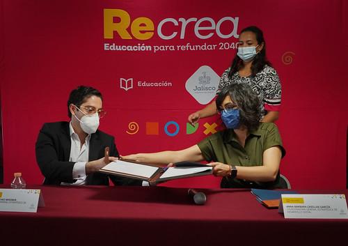 25 Nov 2020 . Secretaría de Educación Jalisco . Firma de convenio entre Secretaría de Seguridad Pública y Secretaría de Educación Jalisco para brindar servicio educativo a preliberados.
