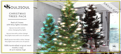 Soul2Soul Christmas Trees Pack Free Group Gift!