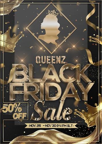 QUEENZ | Black Friday Sale
