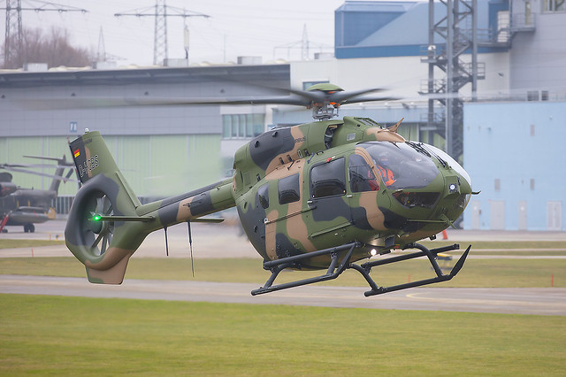 D-HCBS, Airbus H145M Airbus Helicopters Demonstrator @ Dönauwörth EDPR