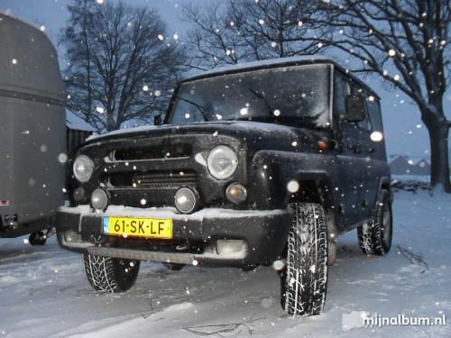 61-SK-LF 2006 UAZ Tigr