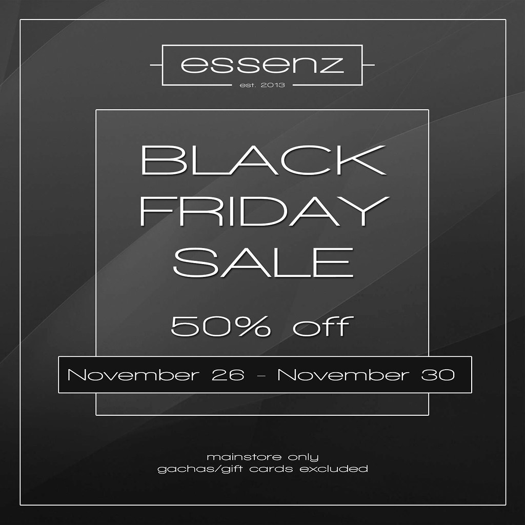 Essenz – Black Friday Sale