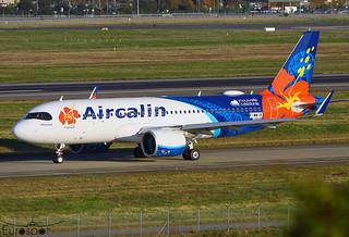 F-WWIR / F-OTIB Airbus A320-271N Air Calin s/n 10049 * Toulouse Blagnac 2020 *