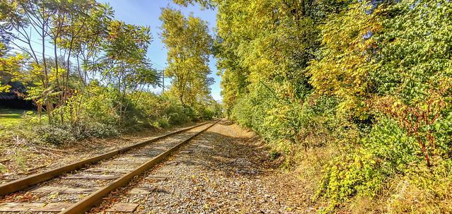 Railroad near McConnell Springs Park