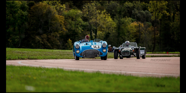 Talbot Lago T26 GS & Lotus Super Seven