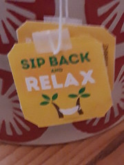 sip back and relax
