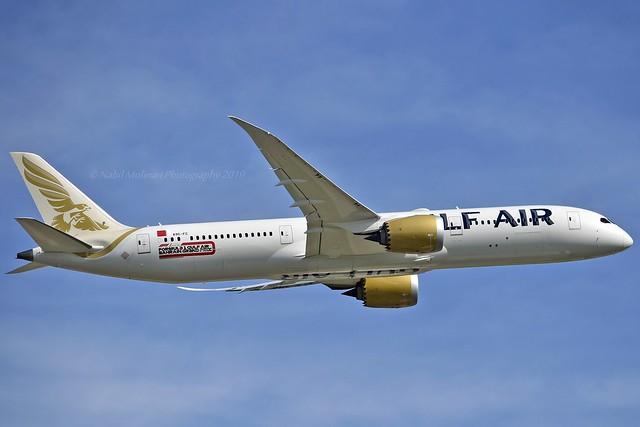 Gulf Air A9C-FC Boeing 787-9 Dreamliner cn/39982-721 @ EGLL / LHR 14-05-2019