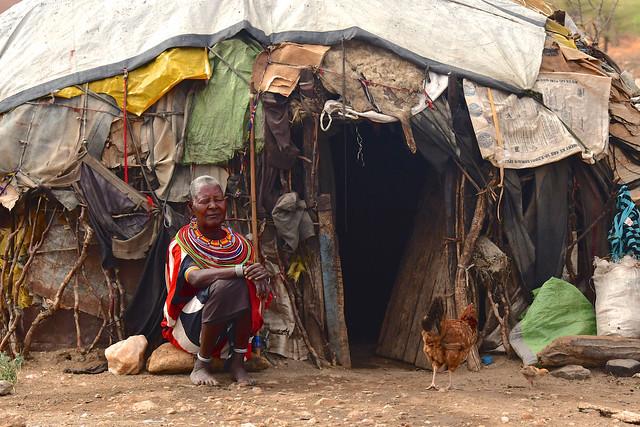 Kenya- Samburu village