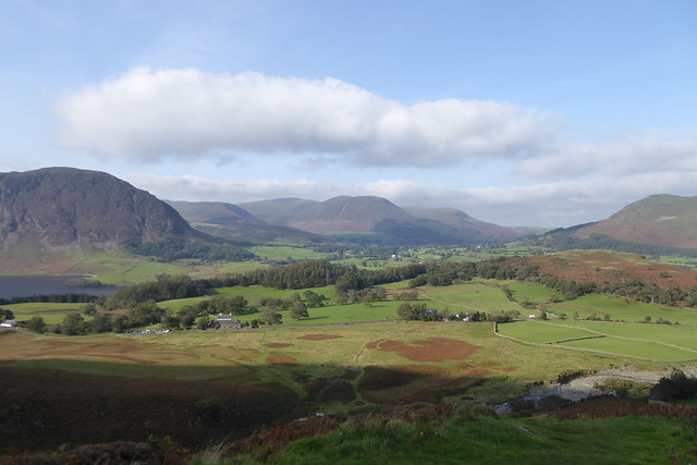 Looking across Loweswater from Whiteside