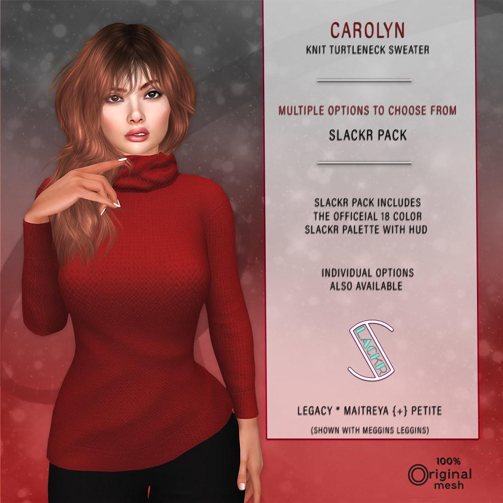 Slackr :: Carolyn