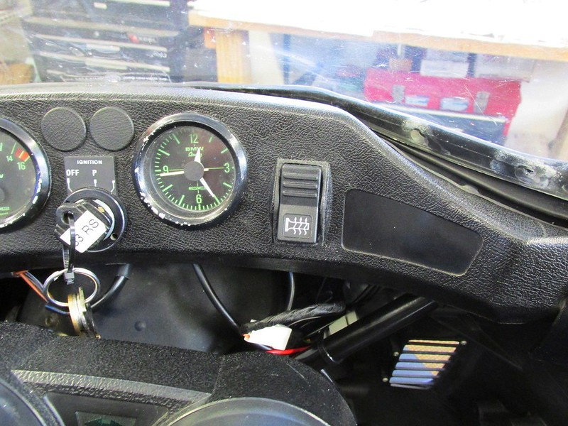High-Off-Low Switch Installed In Dash