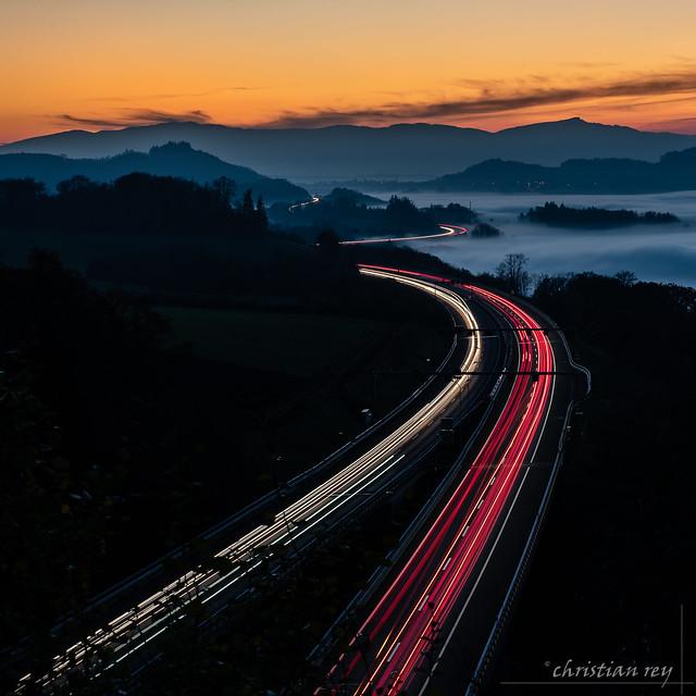 Lorsque les voitures redessinent le paysage (Switzerland)