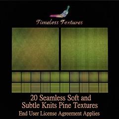 TT 20 Seamless Soft and Subtle Knits Pine Timeless Textures