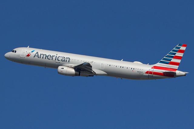 N912UY | Airbus A321-231 | American Airlines