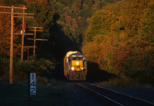 csx emd sd402 southerntierline hankinsny nysw ml401 train railfan railroad