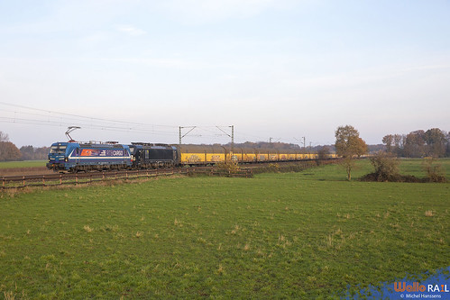 192 014 + 193 669 . RTB Cargo . 42595 . Ossum-Bösinghoven, (Meerbusch) 25.11.20.