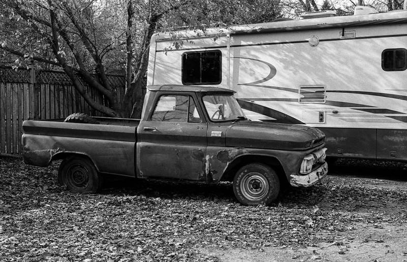 Vintage Pick Up Truck_