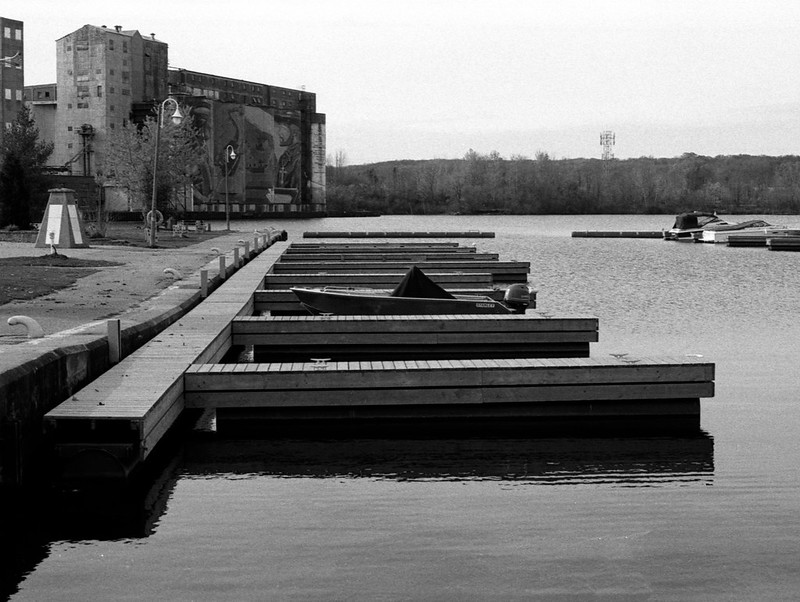 One Boat Left with these Series of Docks_
