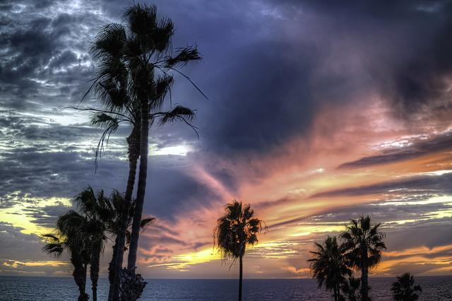O'Side Beach Sunset 30-11-12-20-2-5Dii-70X300mm