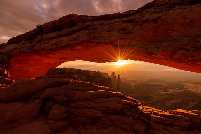 Canyonlands National Park   |   Mesa Arch