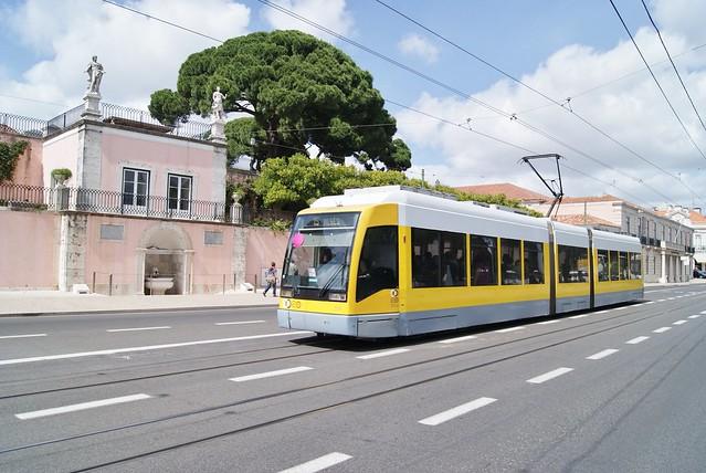 Tram 504 de Lisbonne (Portugal)
