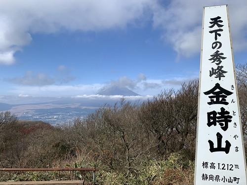天下の秀峰 金時山