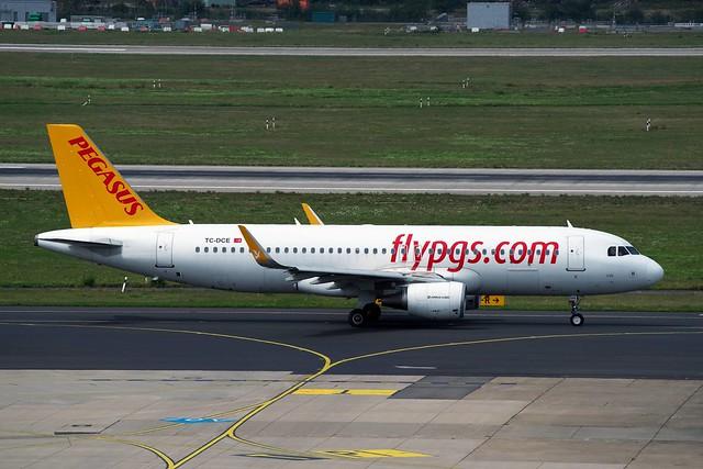 A320 TC-DCE Pegasus flypgs com