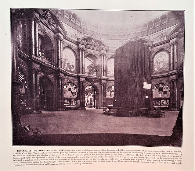 Rotunda of the Government Building - Chicago World's Fair 1893