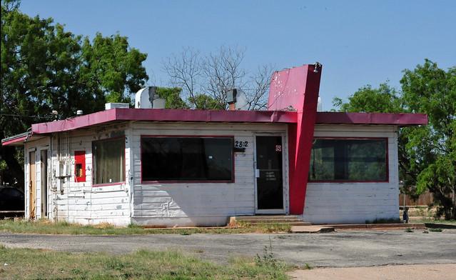 Abandoned Hamburger Joint - Abilene, Texas