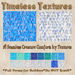 TT 16 Seamless Creature Comforts Icy Timeless Textures