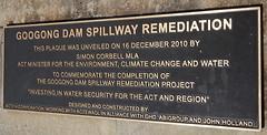 Googong Dam Spillway Remediation 2010