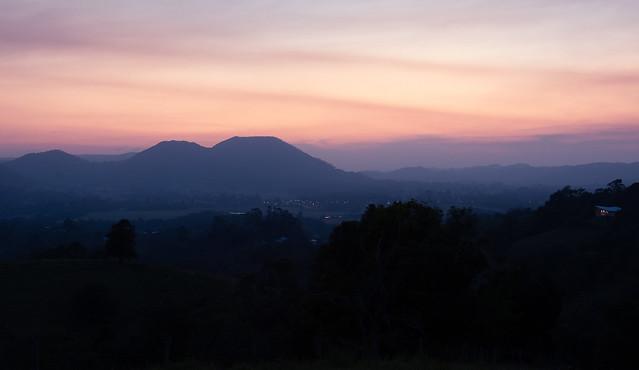 Eumundi evening glow