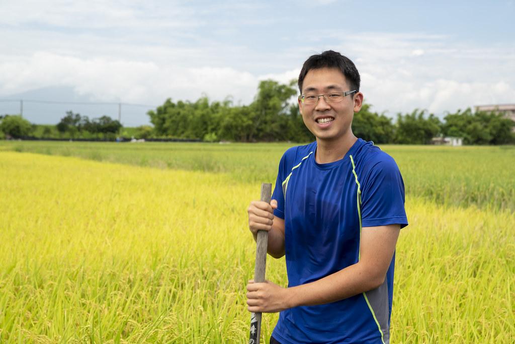 綠保農友林哲安指出,生態與經濟的平衡永續需要市場支持。而慈心與林務局推動的綠保標章有利於品牌行銷(慈心基金會提供)。
