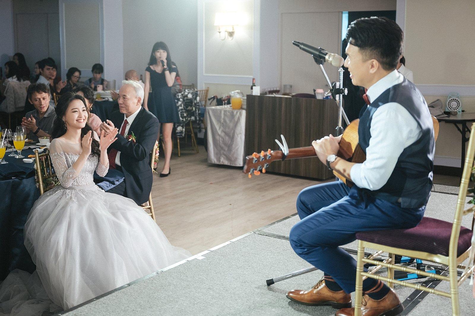 【婚攝】Carter & June / 彭園婚宴會館-新板館