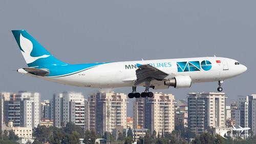 TLV - MNG Airbus A300-600 TC-MCG