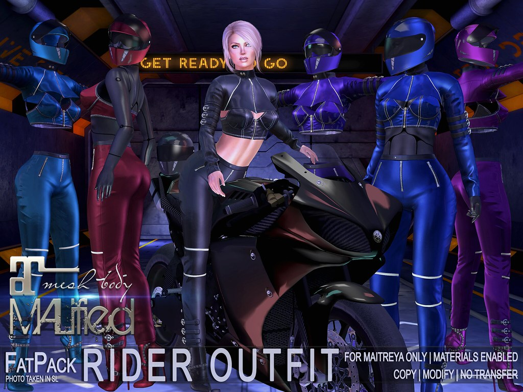 MALified – Rider Outfits – FATPACK