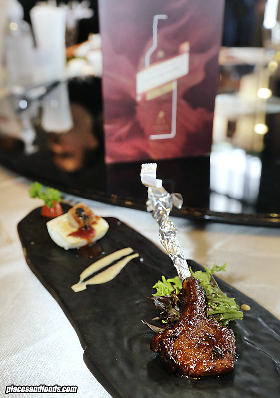 one restaurant lamb chop