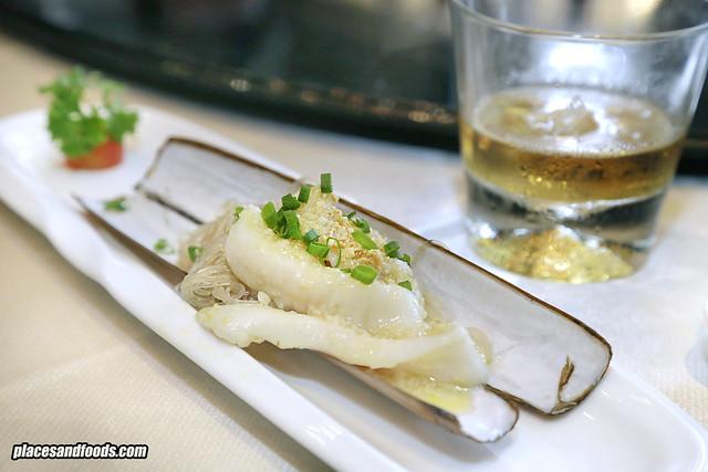 one restaurant clam