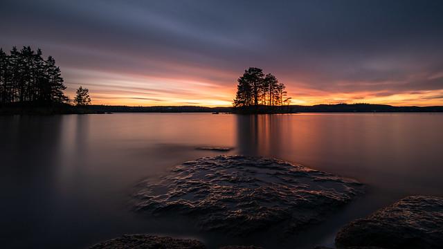 Twilight at Hackelboö