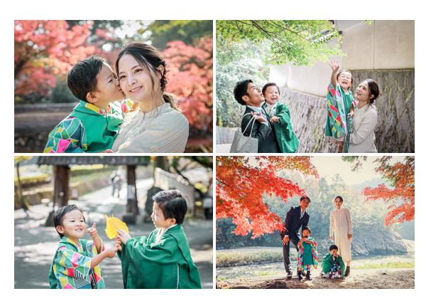 永保寺で七五三の前撮り 秋の紅葉の季節 2020年11月