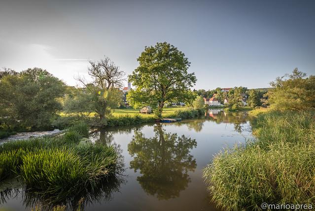 River at harburg