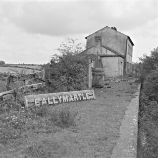 The next train to Ballymartle will arrive at...
