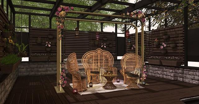 #078 Relax in garden