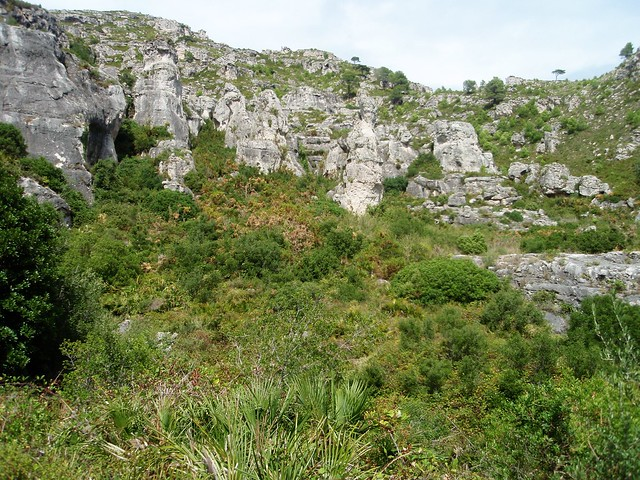 Cuevas de Cabrafeixet - Sierra de Cardò (Tarragona)