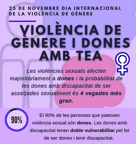 25N - Violència de gènere i dones amb TEA