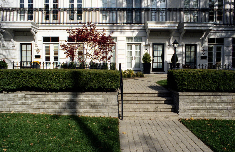 Townhouse Front Yards_