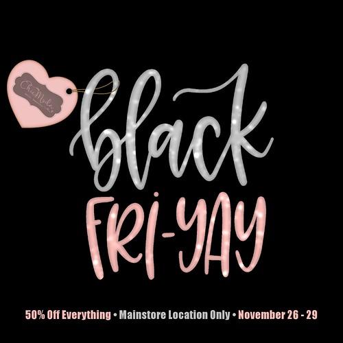 ChicMod Black FRI-YAY Sale!