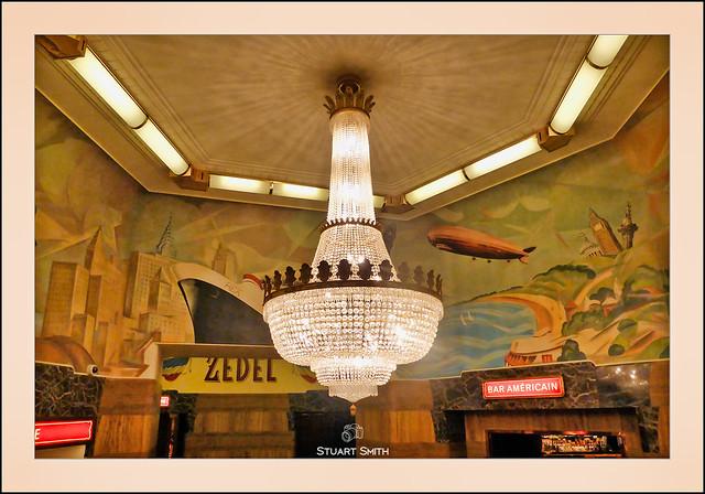 Centrepiece, Brasserie Zédel, 20 Sherwood Street, Soho, London, England UK