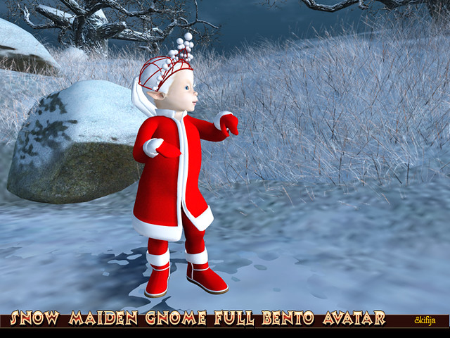 Snow Maiden Gnome Full Bento Avatar_7