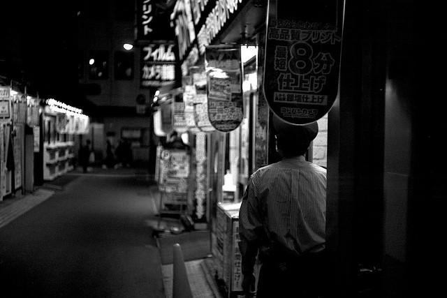 新宿モノクロームスナップ. 2020